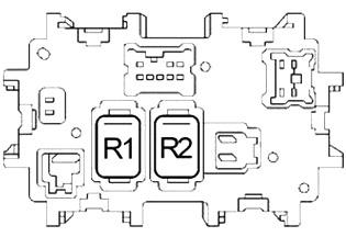 Nissan Quest (2004-2009) Fuse Diagram • FuseCheck.com