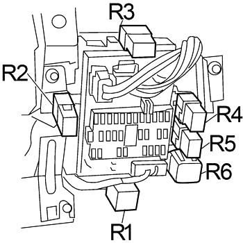 Nissan Sentra (2000-2006) Fuse Diagram • FuseCheck.com
