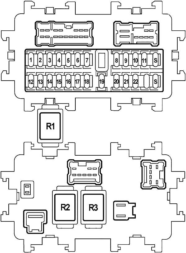 Nissan Teana (J31) (2003-2008) Fuse Diagram • FuseCheck.com