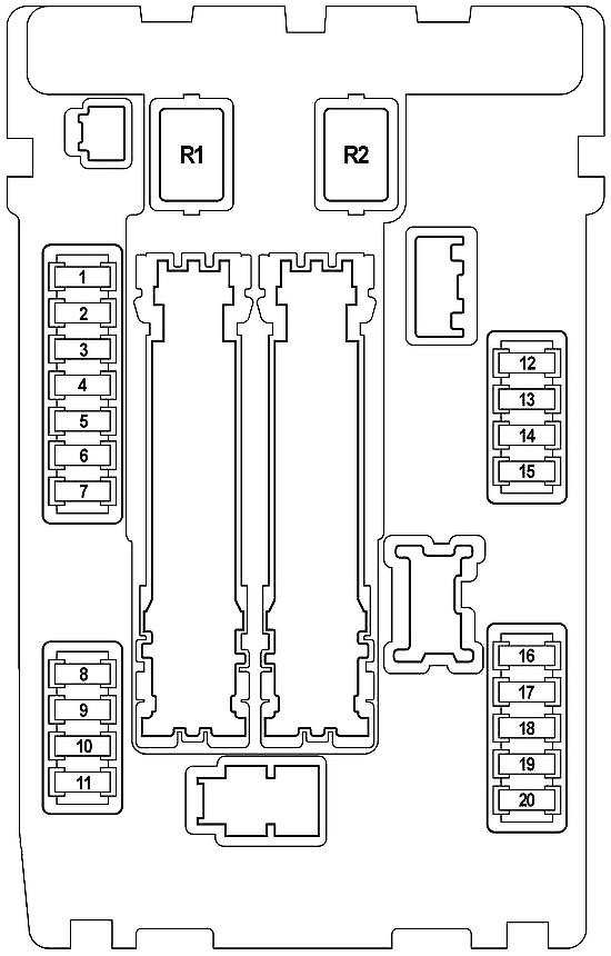 Nissan Teana (J32) (2008-2014) Fuse Diagram • FuseCheck.com