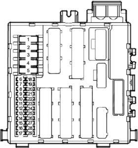 Saab 9-3 (2002-2012) Fuse Diagram • FuseCheck.com