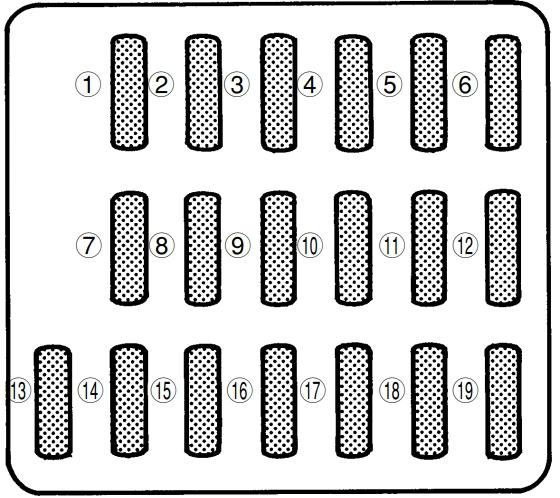 Subaru Impreza (1998-2001) Fuse Diagram • FuseCheck.com