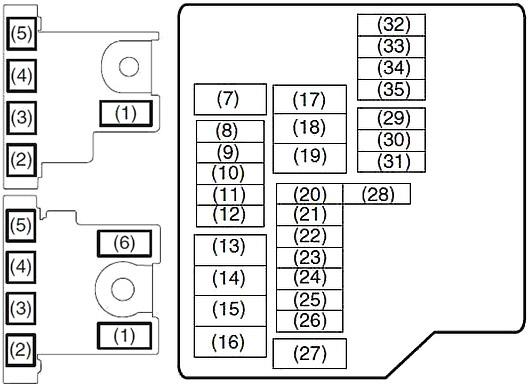 Suzuki Ertiga (2012-2018) Fuse Diagram • FuseCheck.com