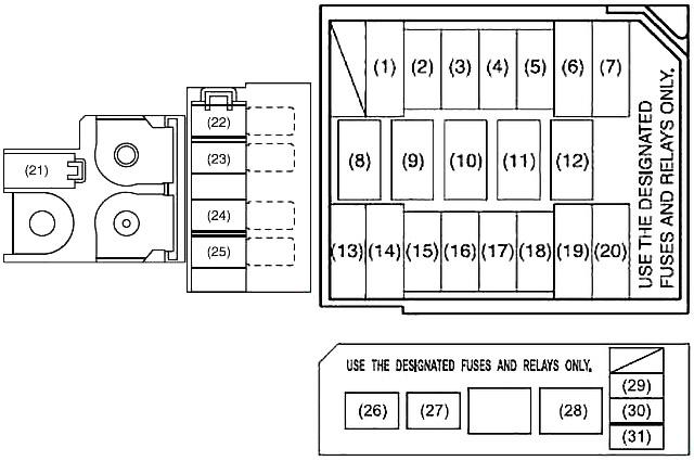 Suzuki Swift (2004-2010) Fuse Diagram • FuseCheck.com