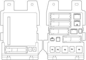 Toyota Avalon (GSX30) (2005-2012) Fuse Diagram • FuseCheck.com