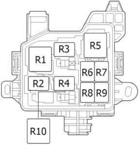 Toyota Aygo (AB40) (2014-2018) Fuse Diagram • FuseCheck.com