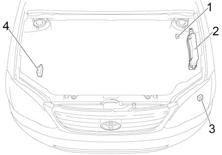 Toyota Corolla (USA) (2003-2008) Fuse Diagram • FuseCheck.com