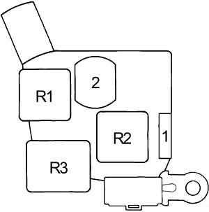 Toyota Cressida (X80) (1988-1992) Fuse Diagram • FuseCheck.com