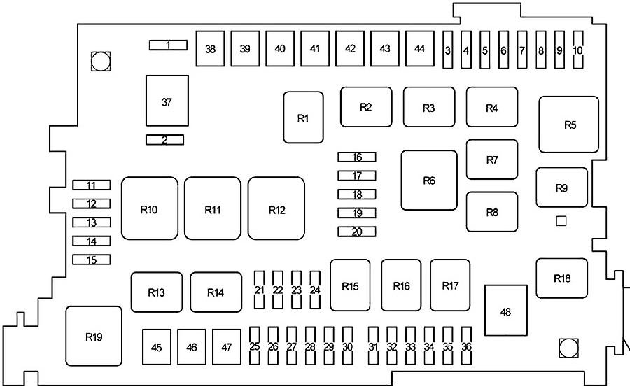 2006 Land Cruiser Fuse Box Diagram / Hm 1400 Toyota Fj