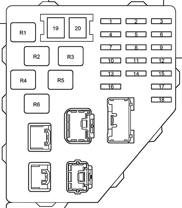 Toyota Prius (NHW11) (2000-2003) Fuse Diagram • FuseCheck.com