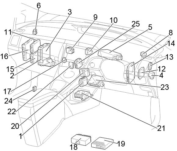 [DIAGRAM] Where Is Lighter Fuse In Toyota Prius FULL