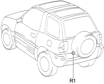 Toyota RAV4 (SXA1) (1994-1997) Fuse Diagram • FuseCheck.com