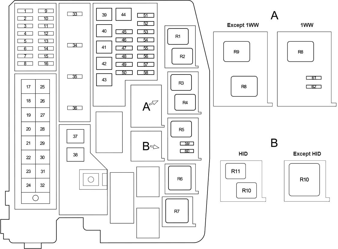 Toyota Verso Ar20 Fuse Diagram Fusecheck