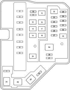 Toyota Yaris (130) (2010-2017) Fuse Diagram • FuseCheck.com
