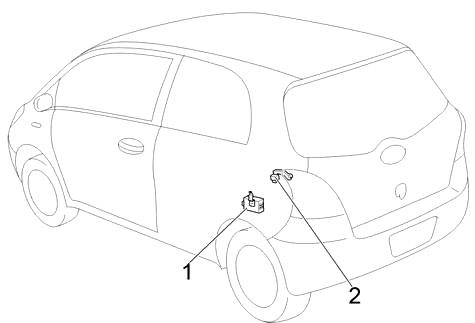 Toyota Yaris (XP90) (2005-2012) Fuse Diagram • FuseCheck.com