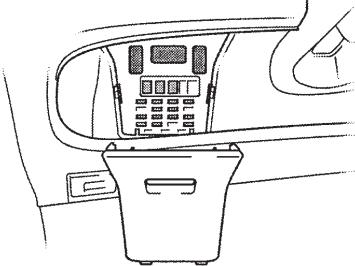 Toyota Yaris Verso & Echo Verso (1999-2005) Fuse Diagram