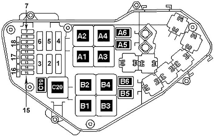 Volkswagen Touareg (2002-2005) Fuse Diagram • FuseCheck.com