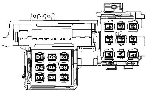 Volkswagen Touareg (2005-2010) Fuse Diagram • FuseCheck.com