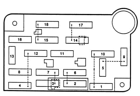 98 Lincoln Continental Fuse Box Diagram : Diagram Gem Car