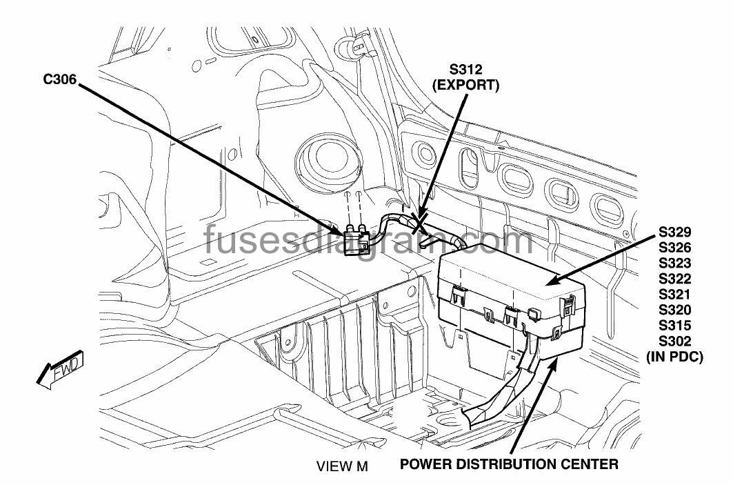 roger vivi ersaks: 2005 Chrysler 300 Rear Fuse Box Diagram