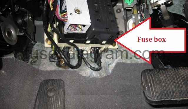 2004 Hyundai 1500 Layout Fuse Box Diagram