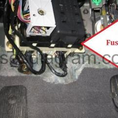08 F150 Fuse Box Diagram 1995 Toyota 4runner Engine Fuses And Relays Ford Taurus 2000-2007