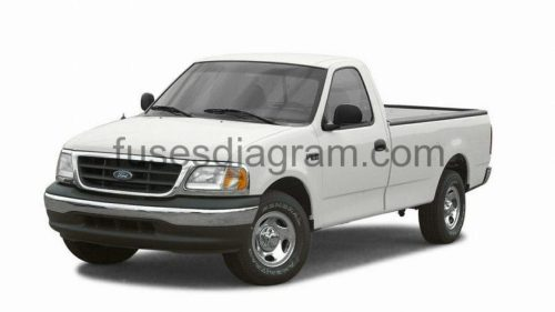 small resolution of ford f 150 xlt fuse box diagram under hood