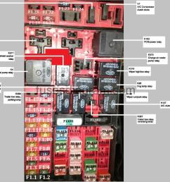 fuses an relays box diagram ford f150 1997 [ 1082 x 872 Pixel ]
