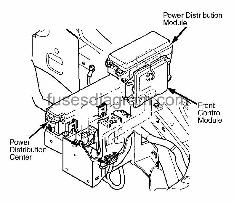 2008 Dodge Durango Fuse Box Diagram : 35 Wiring Diagram