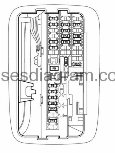 2005 Dodge Durango Fuse Box Diagram : dodge, durango, diagram, Fuses, Relays, Diagram, Dodge, Durango