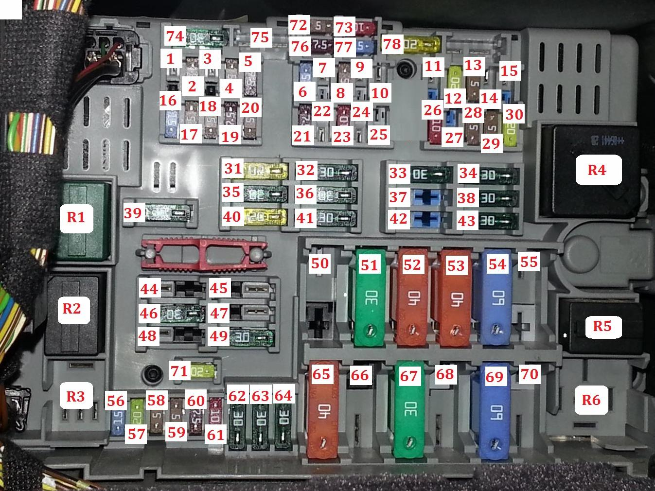 2007 Bmw Z4 Coupe Fuse Box Diagram