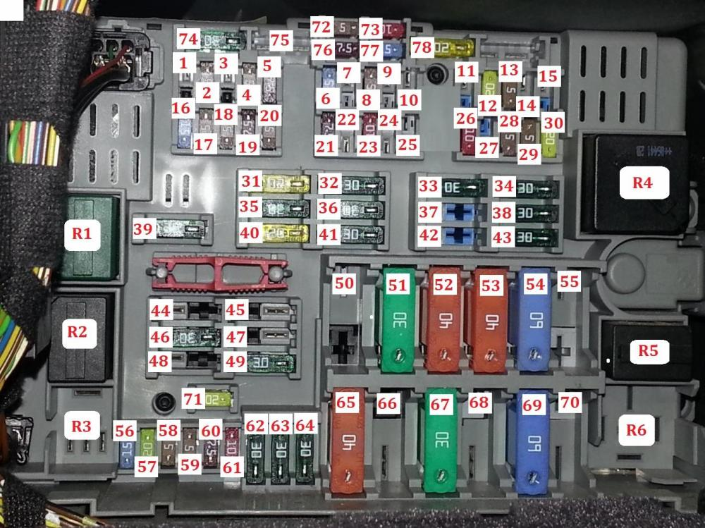 medium resolution of fuse and relay box diagram bmw e90