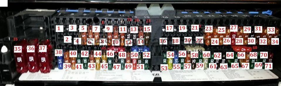 bmw e46 m3 fuse box location