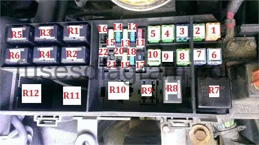 2001 pt cruiser speaker wiring diagram kenwood excelon ddx8017 fuses and relay chrysler