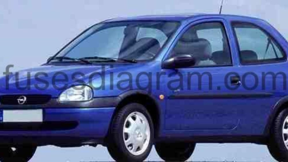 medium resolution of opel corsa 2007 wiring diagram