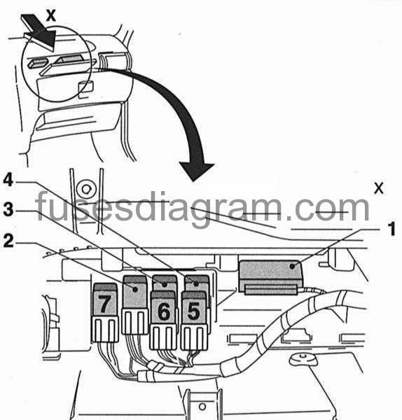 vauxhall fuel pump diagram