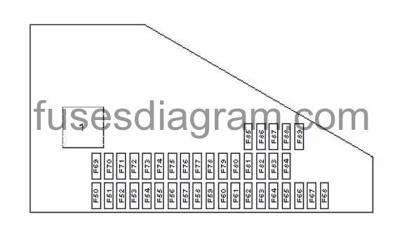 2007 bmw fuse box diagram