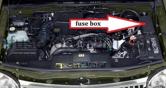Mercury Milan Fuse Box Power Distribition Box