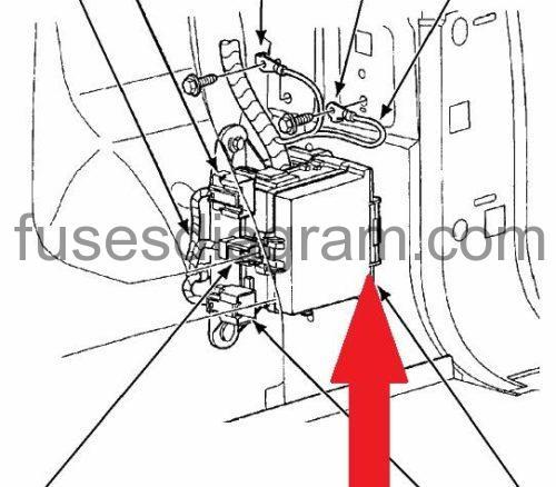 2005 ford 500 fuse box diagram