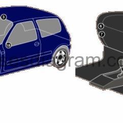 Clio 2 Airbag Wiring Diagram 1995 Dodge Ram 1500 Trailer Fuse Box Renault