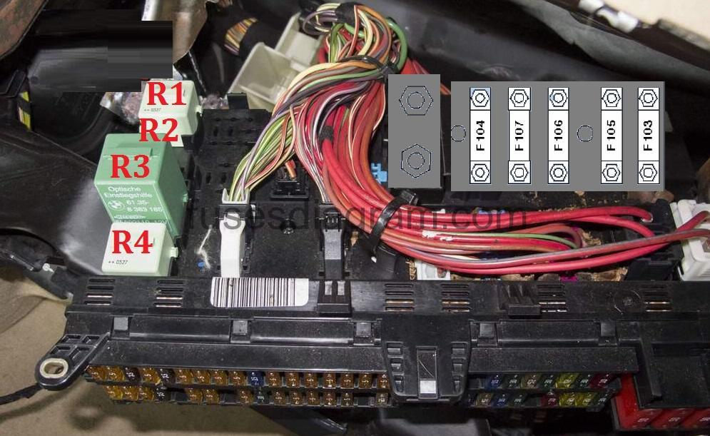 citroen c5 airbag wiring diagram ford taurus cooling system fuse box bmw x5 e53 and relay location