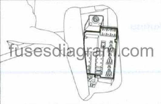 fuse box diagram fiat punto grande