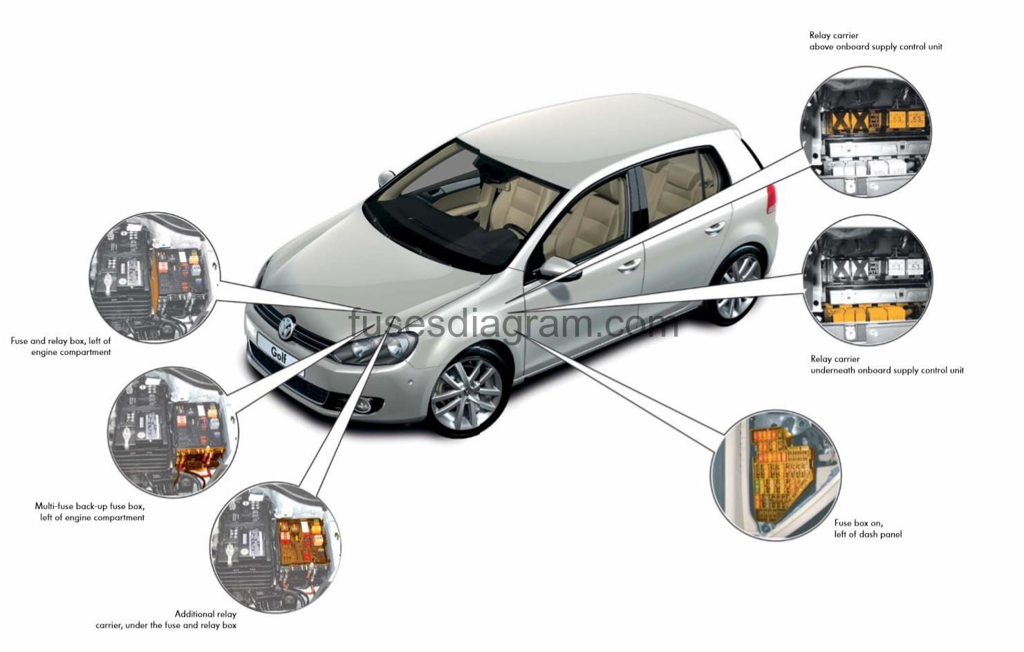 vw polo 9n central locking wiring diagram holden wb ute fuse box volkswagen golf 6