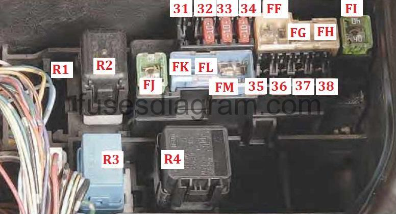2002 Infiniti Qx4 Inside Car Fuse Box Diagram