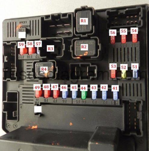 3 Horn Relay Wiring Diagram Fuse Box Nissan Qashqai