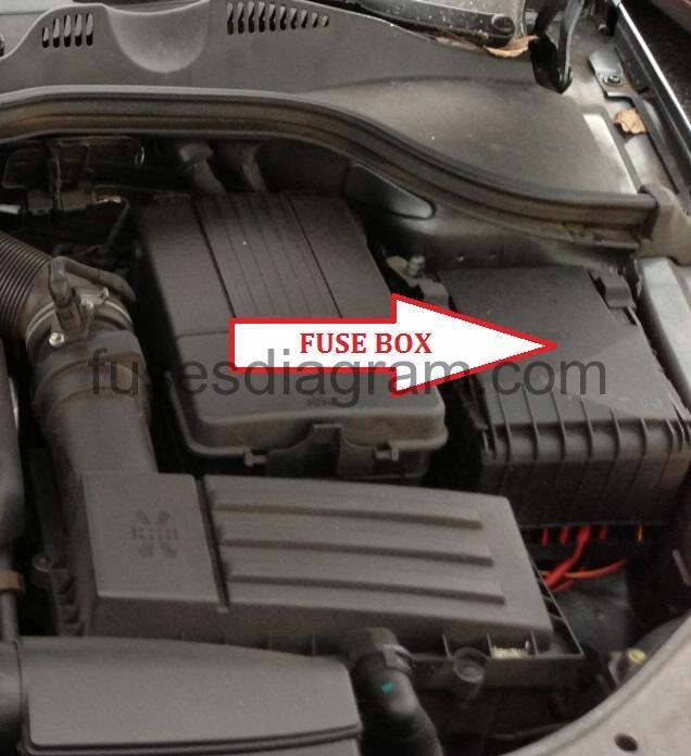 model a horn wiring diagram car relay fuse box volkswagen passat b6