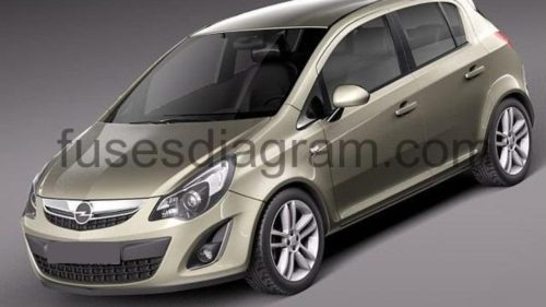 small resolution of opel corsa 2007 wiring diagram