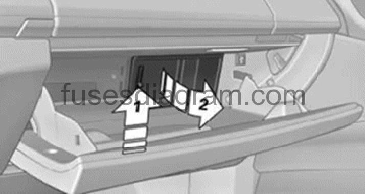 2006 Range Rover Main Fuse Box Diagram
