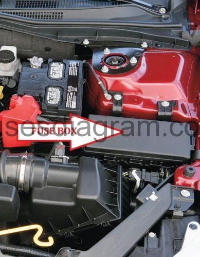 07 Fusion Fuse Diagram Fuse Box Ford Fusion Sedan 2006 2012