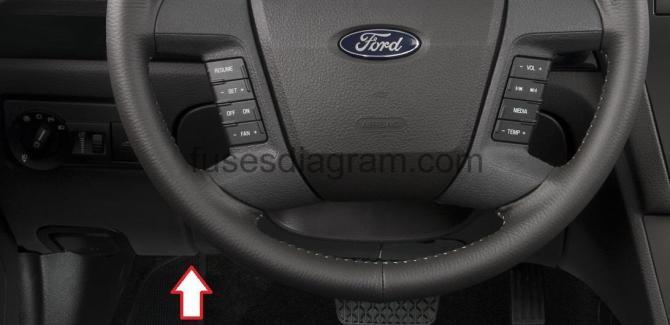 fuse box ford fusion sedan 20062012